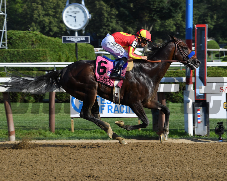 McKinzie wins the 2019 Whitney Stakes at Saratoga<br /> Coglianese Photos/Viola Jasko