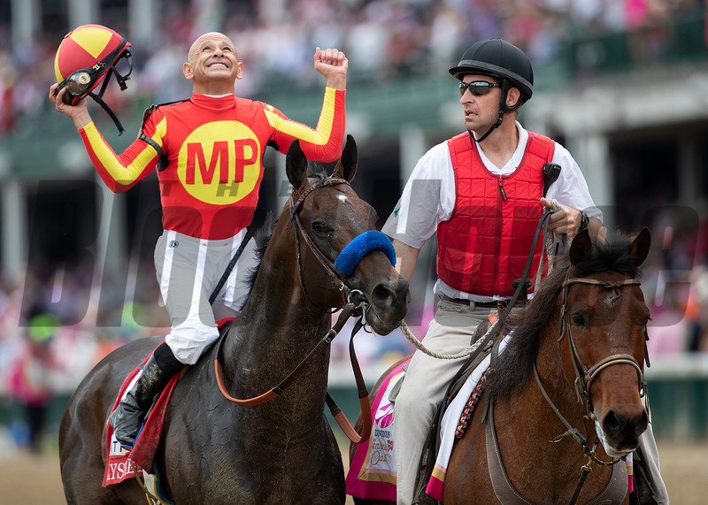 Mckinzie and Mike Smith winning the Alysheba at Churchill Downs on May 3rd, 2019.