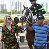 Stormy Embrace wins the 2019 Musical Romance Stakes at Gulfstream Park<br /> Coglianese Photos/Cris Morales
