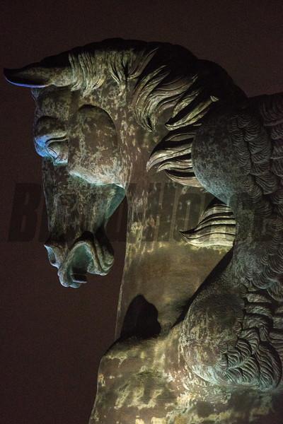 2019 Pegasus Statue Scene<br /> Photo: Joe DiOrio