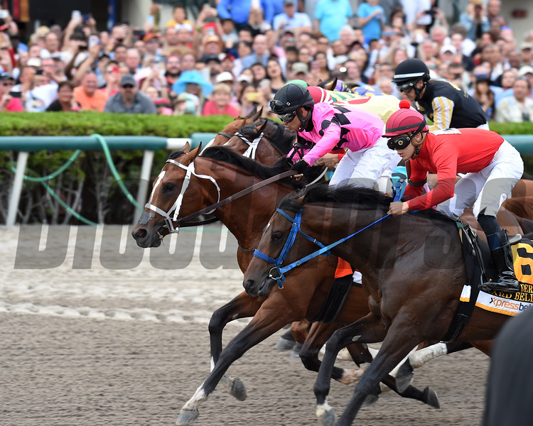 Maximum Security  wins the 2019 Florida Derby<br /> Coglianese Photos/Lauren King