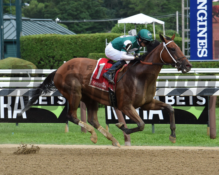 Special Relativity wins the 2019 Shine Again Stakes at Saratoga<br /> Coglianese Photos/Janet Garaguso