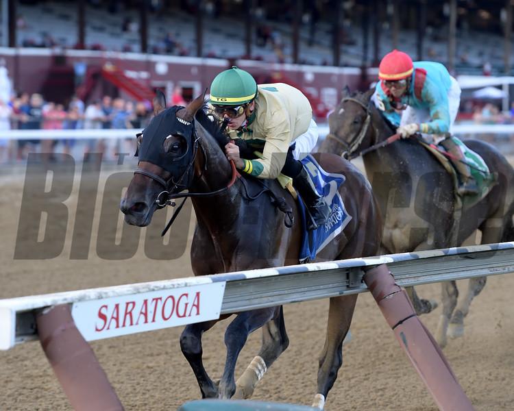 Golden Award wins 2019 Shuvee Stakes at Saratoga. Photo: Coglianese Photos/Joe Labozzetta