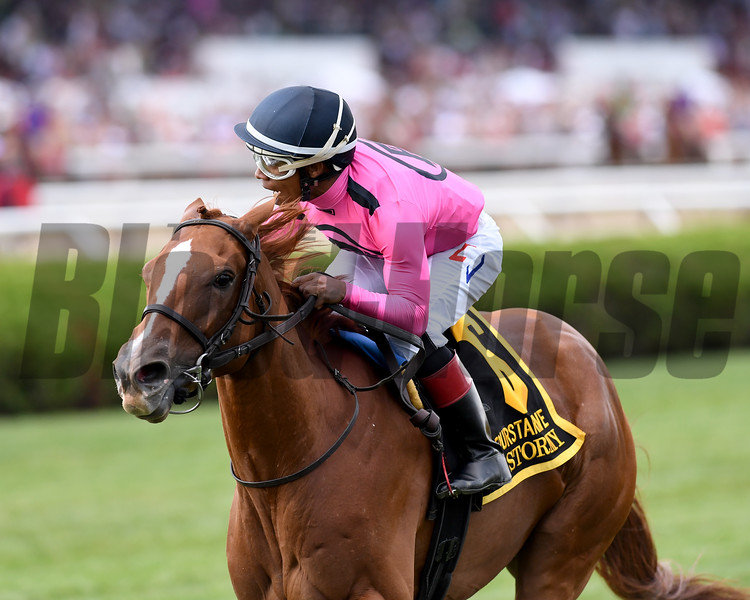 Got Stormy wins the 2019 Fourstardave at Saratoga<br /> Coglianese Photos/Chelsea Durand
