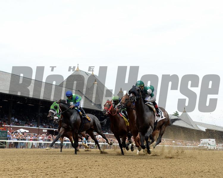 1st race of the 2019 Saratoga Season<br /> Won by Armament (#2)     <br /> Coglianese Photos