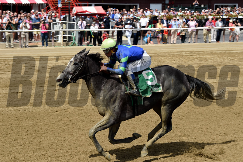 Royal Charlotte wins the 2019 Prioress Stakes at Saratoga<br /> Coglianese Photos/Chelsea Durand