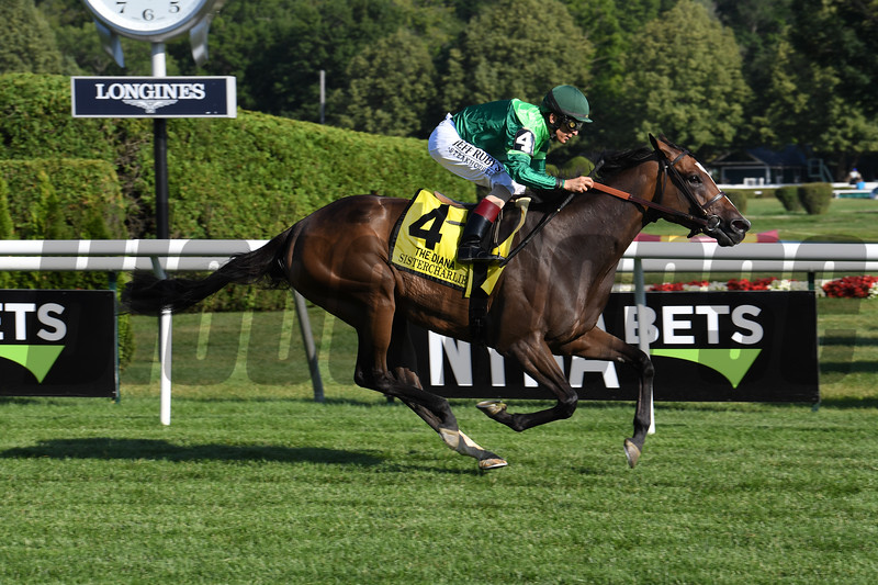 Sistercharlie wins the 2019 Diana Stakes at Saratoga<br /> Coglianese Photos