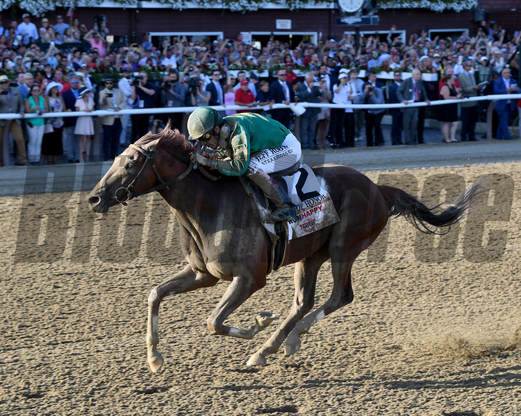 Code of Honor wins the 2019 Travers Stakes at Saratoga<br /> Coglianese Photos/Chelsea Durand