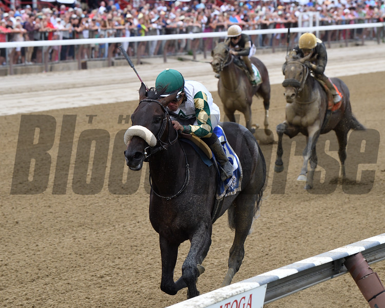 City Man wins the 2019 Funny Cide at Saratoga<br /> Coglianese Photos/Chelsea Durand
