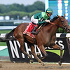Dunbar Road wins the 2019 Mother Goose Stakes at Belmont Park <br /> Coglianese Photos/Chelsea Durand
