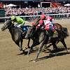 Mind Control wins the 2019 H. Allen Jerkens Stakes at Saratoga<br /> Coglianese Photos/Chelsea Durand