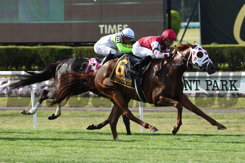 Henley's Joy wins the 2019 Belmont Derby Invitational<br /> Coglianese Photos