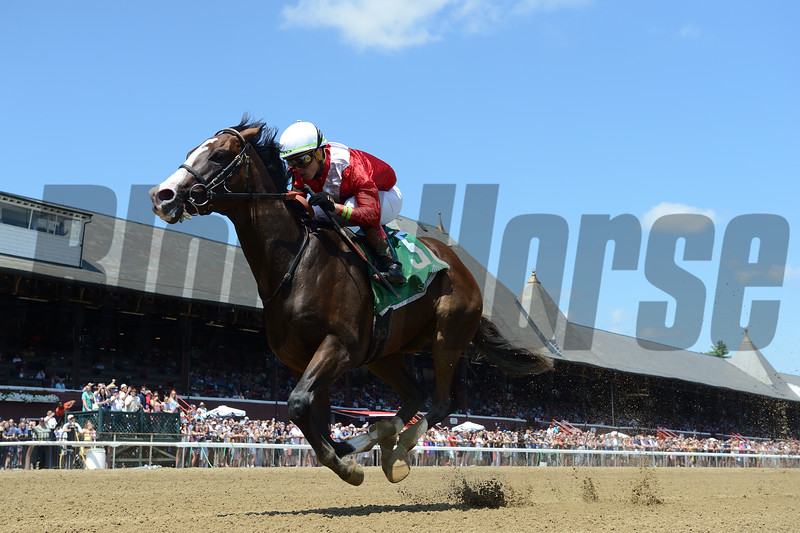 By Your Side wins the 2019 Sanford Stakes at Saratoga<br /> Coglianese Photos