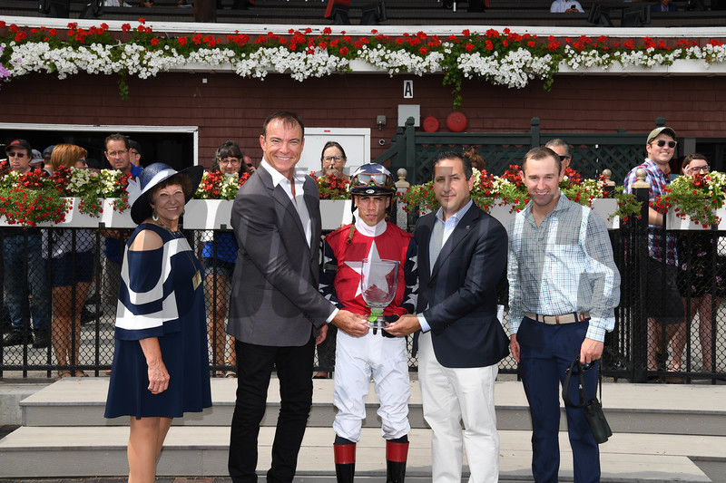 Kid Is Frosty wins the 2019 New York Stallion Series Stakes at Saratoga<br /> Coglianese Photos