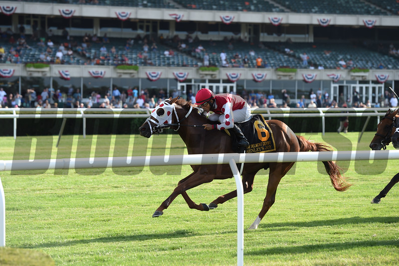 Henley's Joy wins the 2019 Belmont Derby Invitational<br /> Coglianese Photos/Chelsea Durand