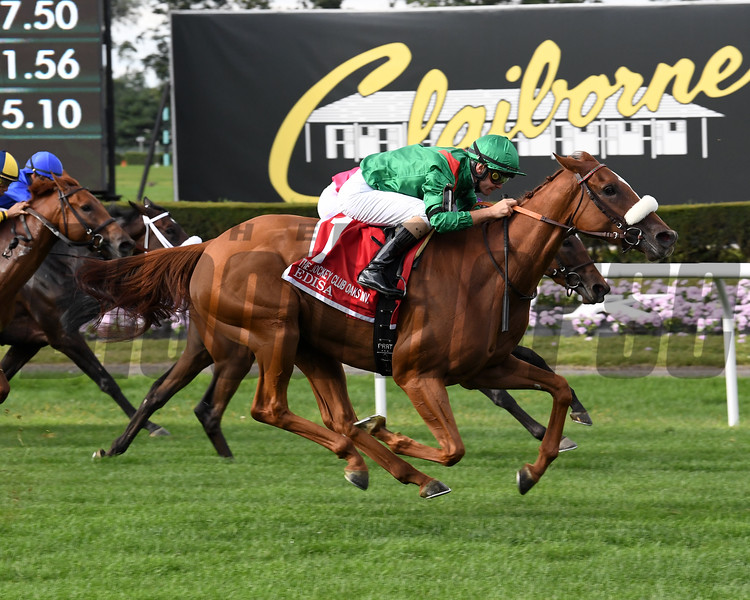 Edisa wins the 2019 Jockey Club Oaks Invitational         <br /> Coglianese Photos/Susie Raisher