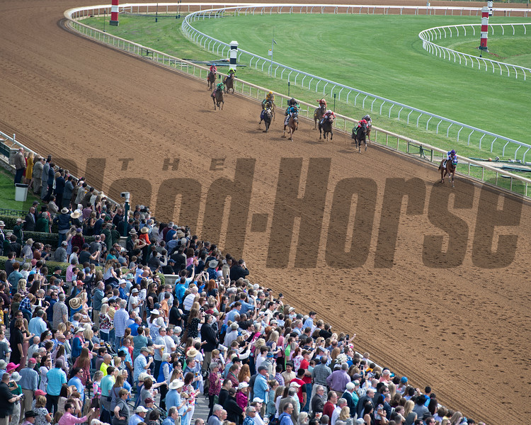 Mean Sophia with Agustin Gomez wins <br /> Race 1 at Keeneland in Lexington, Ky., on April 4, 2019