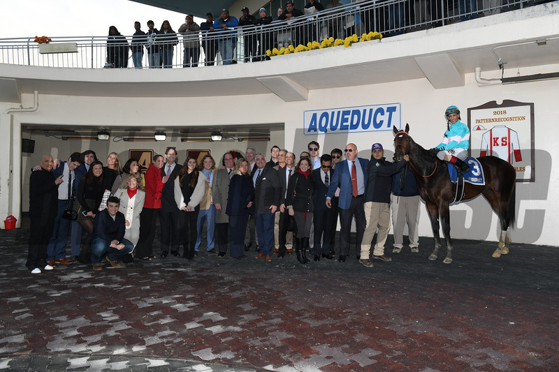 Mind Control wins the 2019 Jerome Stakes at Aqueduct<br /> Coglianese Photos