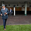 Kenny Troutt walks in the paddock before the running of Funny Cide at Churchill Downs on Derby Day on May 4, 2019 in Louisville, Ky. Photo: Arden Barnes