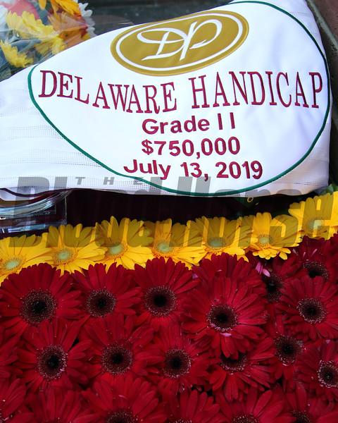 Delaware Handicap at Delaware Park on July 13, 2019. Photo: Chad B. Harmon