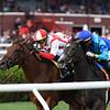 Catch a Bid wins the 2019 Riskaverse Stakes at Saratoga <br /> Coglianese Photos/Chelsea Durand