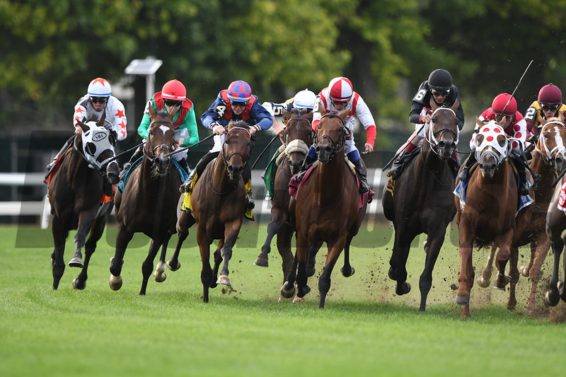 Spanish Mission wins the 2019 Jockey Club Derby Invitational <br /> Coglianese Photos/Derbe Glass