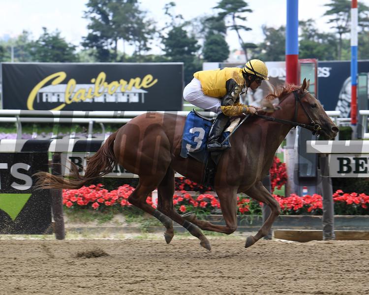 Miss Peppina - Maiden Win, Belmont Park, July 3, 2019<br /> Coglianese Photos