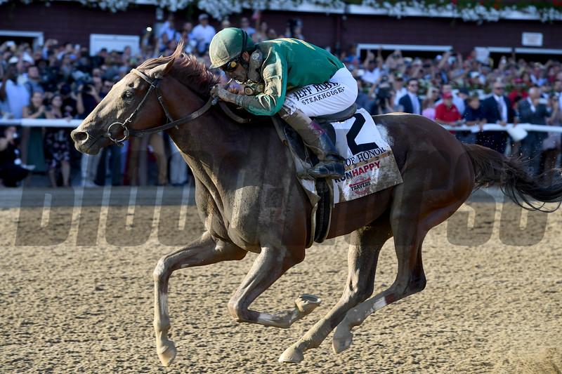 Code of Honor wins the 2019 Travers Stakes at Saratoga<br /> Coglianese Photos/Joe Labozzetta