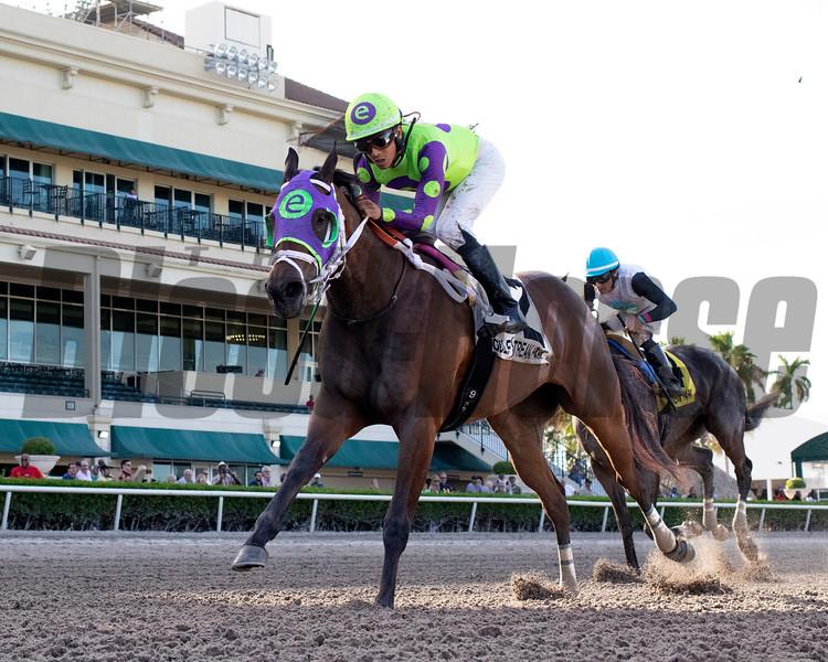 Lovesick wins the 2019 Liza Jane Stakes at Gulfstream Park<br /> Coglianese Photos/Ryan Thompson