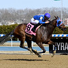 Daria's Angel wins the 2019 Sis City Stakes at Aqueduct<br /> Coglianese Photos/Susie Raisher
