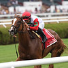 Regal Glory wins the 2019 Lake George Stakes at Saratoga<br /> Coglianese Photos/Chelsea Durand