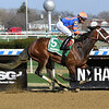 Always Shopping wins the 2019 Gazelle at Aqueduct<br /> Coglianese Photos/Susie Raisher