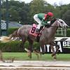 Gouverneur Morris breaks his maiden on debut Monday, September 2, 2019 at Saratoga Race Course. Photo: Coglianese Photos