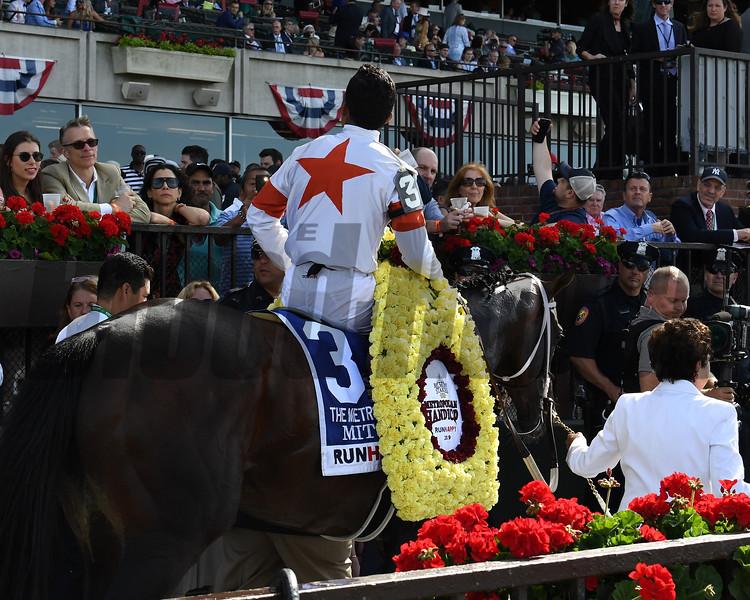Mitole wins 2019 Metropolitan at Belmont Park. Photo: Coglianese Photos/Susie Raisher