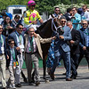 World of Trouble with jockey Manuel Franco aboard wins the 36th running of The Jaipur Invitational (G!) Saturday June 8, 2019 at Belmont Park in Elmont, N.Y.  <br /> Photo by Skip Dickstein