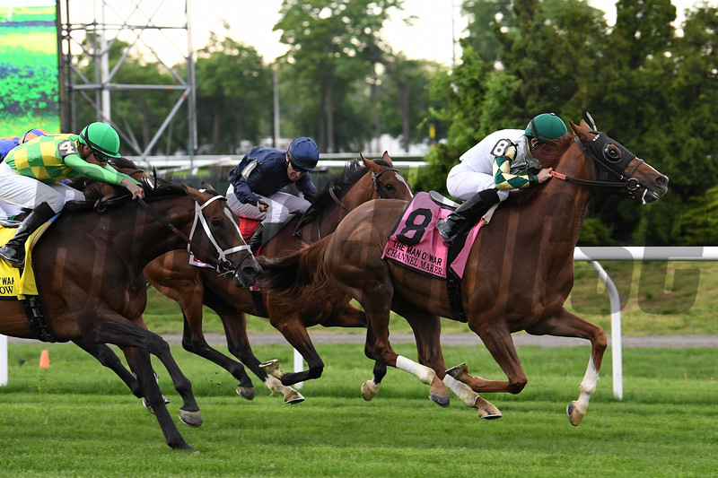 Channel Maker wins the 2019 Man o' War Stakes at Belmont Park<br /> Coglianese Photos/Susie Raisher