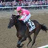 Tax wins the Jim Dandy Stakes Saturday, July 27, 2019 at Saratoga. Photo: Coglianese Photos/Chelsea Durand