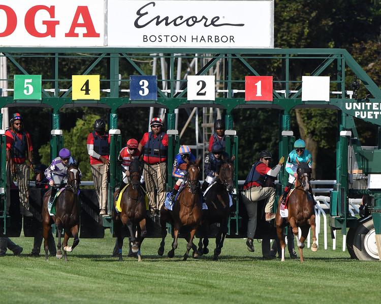 Concrete Rose wins the 2019 Saratoga Oaks Invitational Stakes<br /> Coglianese Photos/Elsa Lorieul