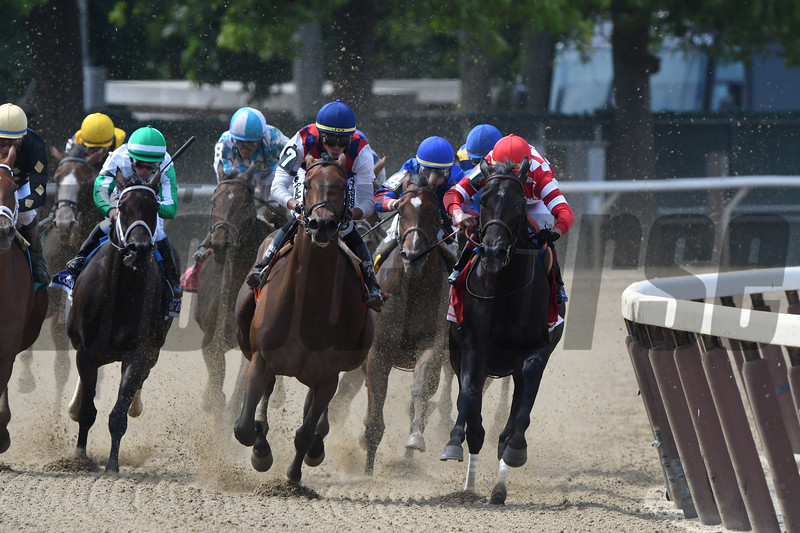 Guarana wins the 2019 Acorn Stakes at  Belmont Park<br /> Coglianese Photos/Hugh Ducey