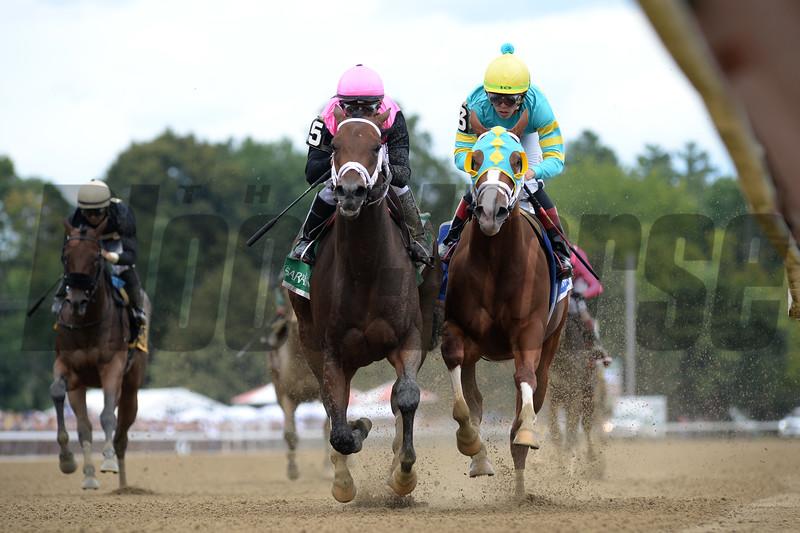 Fierce Lady wins the 2019 Seeking the Ante Stakes<br /> Coglianese Photos