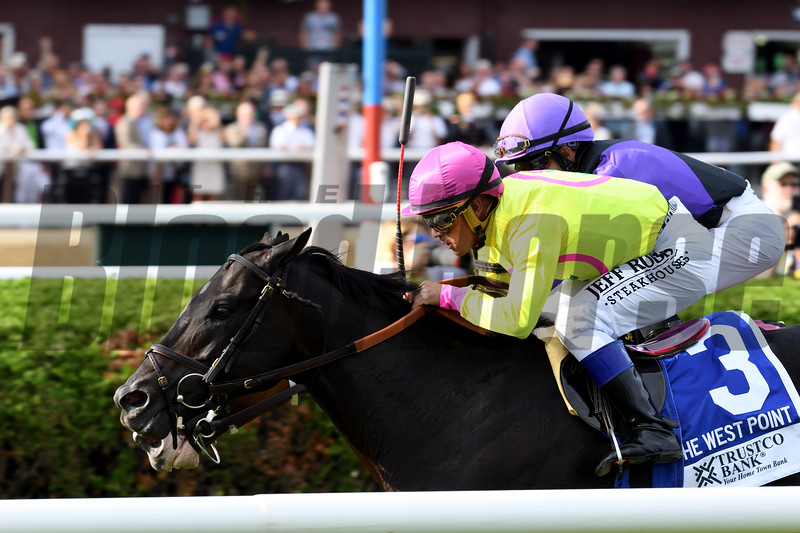 Offering Plan wins the 2019 West Point Stakes at Saratoga<br /> Coglianese Photos/Chelsea Durand