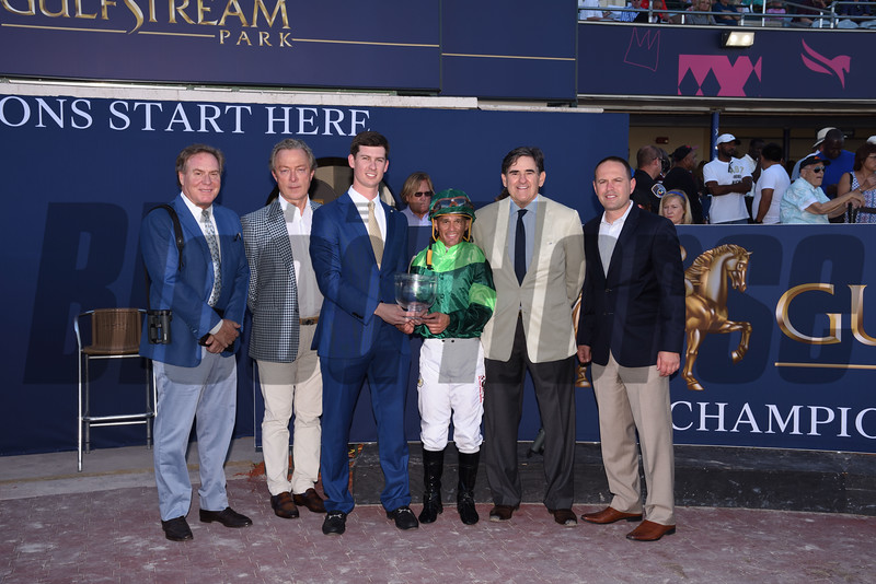 Precieuse wins 2019 Honey Fox at Gulfstream Park. Photo: Coglianese Photos