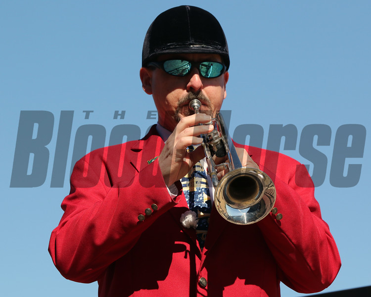 Bugler Oaklawn Park Chad B. Harmon