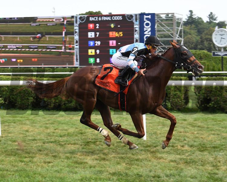 Archidust wins the 2019 Mahony Stakes at Saratoga<br /> Coglianese Photos/Susie Raisher