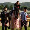 Loves Only You wins the Yushun Himba (Japanese Oaks) at Tokyo Racecourse. Photo: Naoji Inada