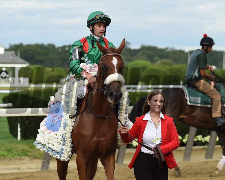 Edisa wins the 2019 Jockey Club Oaks Invitational   <br /> Coglianese Photos/Janet Garaguso
