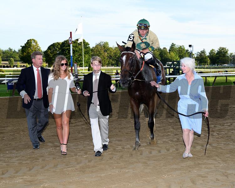 Golden Award wins 2019 Shuvee Stakes at Saratoga. Photo: Coglianese Photos
