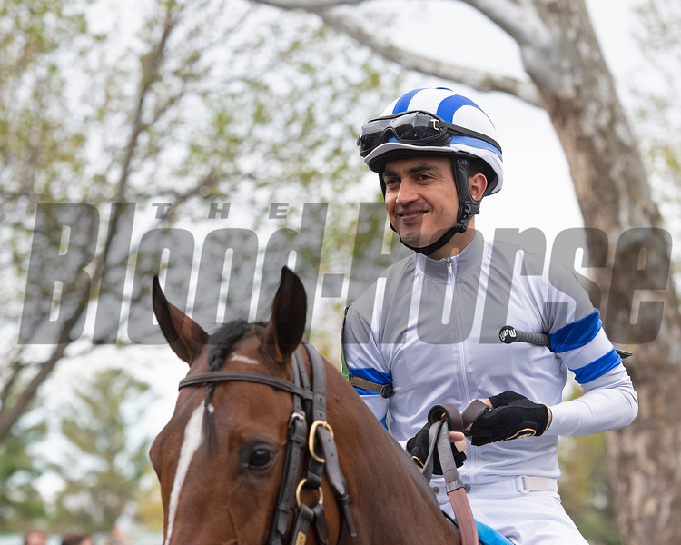 Miguel Mena on Student Body at Keeneland on Saturday, April 13, 2019.