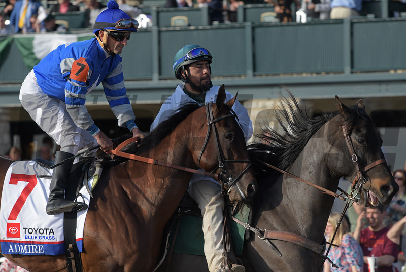 Admire with Robby Albarado in the Blue Grass.