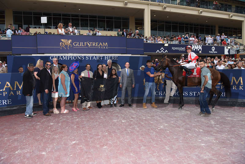 Focus Group wins the 2019 Pan American Stakes at Gulfstream Park<br /> Coglianese Photos